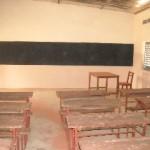 Interior of classroom, N'Galamatiebougou