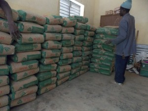 Unloading cement for Kartioni Part 2