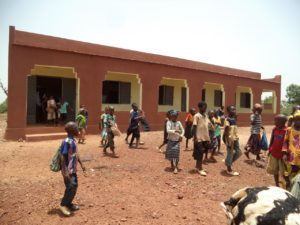 New school at Tiogola, our 15th