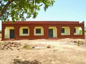 New school in Doumanaba, Mali
