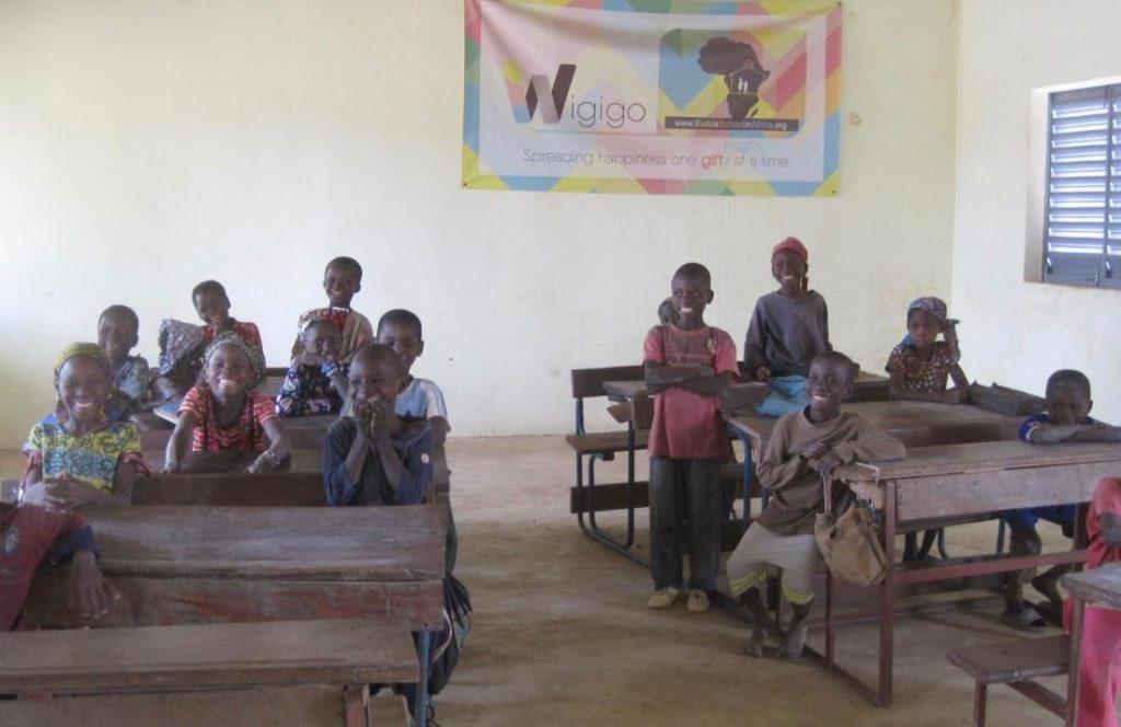 New classroom in Nolabougou