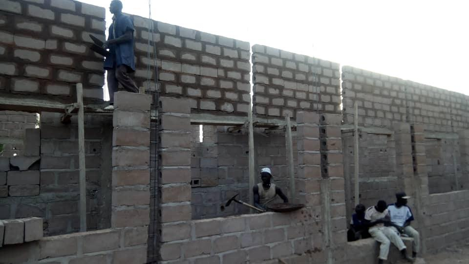 Danzana Middle School under construction